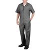 workwear coveralls: Dickies - Men's Short Sleeve Poplin Coverall
