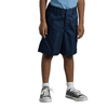 Dickies Boys Elastic Back Plain-Front Shorts DKI 54362-DN-4-RG