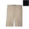 Dickies Boys Plain-Front Shorts DKI 54562-BK-18-RG
