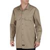 Dickies Mens Long Sleeve Heavyweight Cotton Work Shirt DKI 549-KH-2X