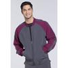 workwear: Cherokee - Men's Infinity® Colorblock Zip Up Warm-Up Jacket