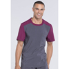 workwear: Cherokee - Men's Infinity® Colorblock Crew Neck Top