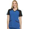 workwear: Cherokee - Women's Infinity® Colorblock V-Neck Top