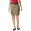 Dickies Womens Knee Length Skirts DKI FK201-DS-10
