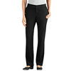 workwear plain front pants: Dickies - Women's Slim-Fit Straight-Leg Pants