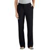 Dickies Womens Pleat-Front Pants DKI FP2200-BK-14-UU