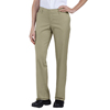 workwear womens pants: Dickies - Women's Premium Relaxed-Fit Flat-Front Pant