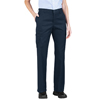 womens pants: Dickies - Women's Premium Relaxed-Fit Straight-Leg Cargo Pants