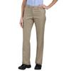 workwear plain front pants: Dickies - Women's Industrial Comfort-Waist Pants