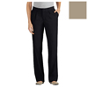 workwear plain front pants: Dickies - Women's Pleat-Front Pants, Plus-Size
