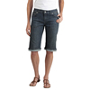 "workwear womens shorts: Dickies - Women's Slim-Fit 13"" Stretch Denim 5-Pocket Shorts"
