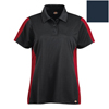 workwear xs: Dickies - Women's Industrial Color Block Polo Shirt