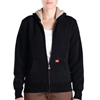 Dickies Womens Sherpa Fleece Hoodies DKI FW103-BK-L