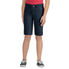 workwear womens shorts: Dickies - Girls 5-Pocket Striped Twill Shorts
