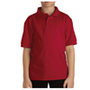 Dickies Kids Short Sleeve Pique Polo Shirts DKI KS4552-ER-L