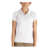 workwear Polo Shirts: Dickies - Girls' Short Sleeve Pique Polo Shirts