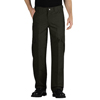 workwear plain front pants: Dickies - Men's Tactical Relaxed Fit Straight Leg Lightweight Ripstop Pants
