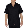 workwear 2xl: Dickies - Men's Short Sleeve Industrial Cotton Work Shirt