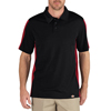 workwear Polo Shirts: Dickies - Men's Industrial Short Sleeve Color Block Polo Shirts