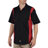 workwear 2xl: Dickies - Men's Short Sleeve Two-Tone Industrial Shirt