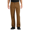 workwear: Dickies - Men's Industrial Relaxed-Fit Straight-Leg Carpenter Duck Jeans