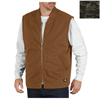 Dickies Mens Sanded Duck Lined Vests DKI TE240-CNC-L