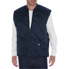 Dickies Mens Diamond Quilted Nylon Vests DKI TE242-DN-L