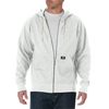 Dickies Mens Lightweight Fleece Hoodie DKI TW368-WH-2X