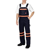 workwear coverall: Dickies - Men's Enhanced Visibility Denim Bib Overalls