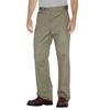 workwear shorts plain front: Dickies - Men's Flat-Front Cotton Pant