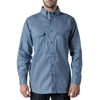 walls fr: Walls FR - Men's Flame Resistant Button-Down Chambray Workshirt