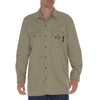 Dickies FR Mens Flame Resistant Long Sleeve Twill Work Shirt DKI DFL574-KH-2X