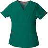 workwear 3xl: Dickies - EDS Signature® Women's Mock Wrap Top