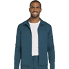 scrubs: Dickies - Dynamix® Men's Zip Front Warm-up Jacket