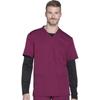 scrub tops: Dickies - Dynamix® Men's V-Neck Top