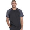 scrub tops: Dickies - Dynamix® Men's Crew Neck Top