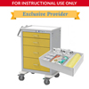 simlabsolutions or dia medical: SimLabSolutions - Loaded Isolation Cart For Simulation