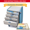 simlabsolutions or dia medical: SimLabSolutions - Loaded 6 Drawer Premium Emergency Crash Cart&Trade; For Simulation