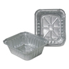 Durable Office Products Aluminum Closeable Containers, 4 7/8w x 1 13/16d x 5 3/4h, Silver, 1000/Carton DPK220301000