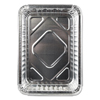Ring Panel Link Filters Economy: Aluminum Closeable Containers, 6 1/8w x 1 9/16d x 8 11/16h, Silver, 500/Carton