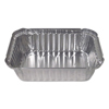 Durable Office Products Aluminum Closeable Containers, 5 1/8w x 1 15/16d x 7 1/16h, Silver, 500/Carton DPK24530500