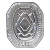 Ring Panel Link Filters Economy: Aluminum Roaster Pans, 18 1/2w x 14d x 3 3/8h, Silver, 50/Carton
