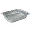 Ring Panel Link Filters Economy: Aluminum Steam Table Pans, 10 3/8w x 12 3/4l x 2 3/16d, Silver, 100/CT