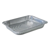 Ring Panel Link Filters Economy: Aluminum Steam Table Pans, 10 3/8w x 1 11/16d x 12 3/4h, Silver, 100/Carton