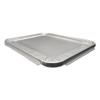 Durable Office Products Foil Lids, 13w x 10 9/16d x 5/8h, Silver, 100/Carton DPK 8200100XX