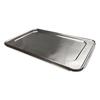 Durable Office Products Foil Lids, 12 7/8w x 5/8d, Silver, 50/Carton DPK 890050XX