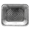 Ring Panel Link Filters Economy: Aluminum Steam Table Pans, 12 3/4w x 10 3/8d x 2 9/16h, Silver, 100/Carton