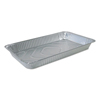 Ring Panel Link Filters Economy: Aluminum Steam Table Pans, 20 3/4w x 12 13/16d x 2 3/16h, Silver, 50/Carton