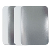 Durable Office Products Board Lids, 5 7/16w x d x h, Silver, 500/Carton DPK L250500