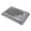 Durable Office Products Dome Lids, 7 15/16w x 5 7/16d x h, Clear, 500/Carton DPK P250500